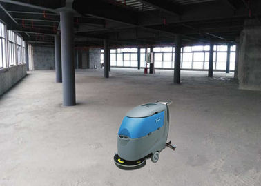 SIngle Brush Floor Scrubber Dryer Machine For Fonda Accept Customization