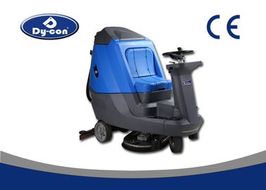 Blue / Grey Hard Floor Cleaner Machine For Railway Station Energy Saving
